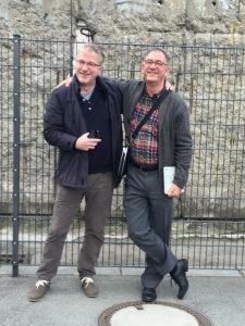 Projectkoor Berlijn 24 t/m 28 oktober 2015 met collega dirigent Jan Verhoef
