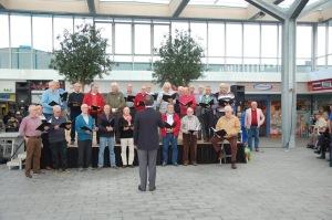Optreden Winkelcentrum Moerwijk, 15 oktober 2016, Hoge Vugt Breda